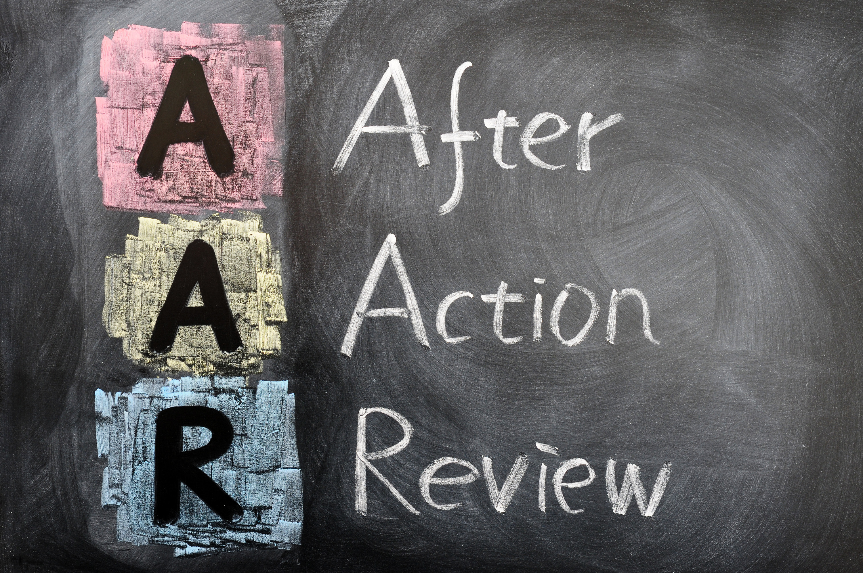 the organizational benefits of after action review aar